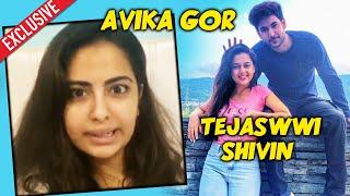 Avika Gor Reaction On Tejaswwi Prakash And Shivin Narang | #TEVIN | Khatron ke Khiladi