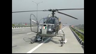 IAF chopper carrying Covid-19 test samples makes emergency landing on Eastern Peripheral Expressway