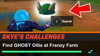 Find GHOST Ollie at Frenzy Farm