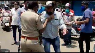 Hyderabad Police Please ! | Police VS Public | Old City Mir Chowk | @ SACH NEWS |