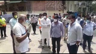70 Corona Virus Cases in Nampally | KTR Visits And Surveys The Areas Of Nampally | @ SACH NEWS |