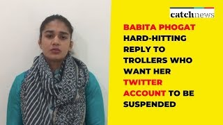 Babita Phogat Hard-Hitting Reply to Trollers Who Want Her Twitter Account To Be Suspended
