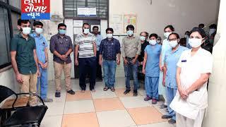 રાજકોટના પ્રથમ કોરોના ગ્રસ્ત નદીમને સારવાર કરનાર ડોક્ટરને અભિનંદન
