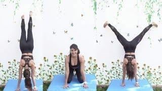 Jacqueline Fernandez Workout Video । 19 April 2020 । News Remind