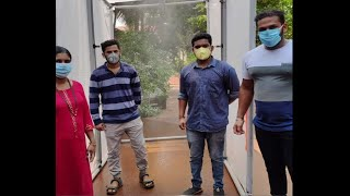 In Just Rs.15,000/- Mechanical Students From Ponda Develop Sanitation Tunnel