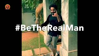 Jr NTR Cleaning His House | Jr NTR Accepted Rajamouli Challenge | #BeTheRealMan | #RRR