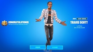Fortnite Travis Scott Astronomical Challenges Free Reward