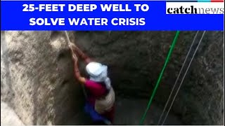 This Couple Makes Best Use Of Lockdown Period, Digs 25-Feet Deep Well To Solve Water Crisis