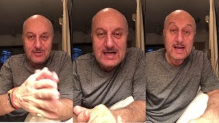 Anupam Kher Emotion Message On COVID - 19 । 21 April 2020 । News Remind