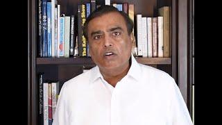 Watch: Statement by Mukesh Ambani on Facebook-Reliance Jio deal