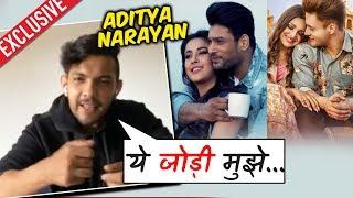 Aditya Narayan Reaction On SIDNAAZ Jodi   Bhula Dunga Vs Kalla Sohna Nai