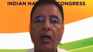Randeep Singh Surjewala addresses media on Congress Working Committee  Meeting