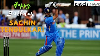 Sachin Tendulkar Birthday: BCCI Wishes Master Blaster Through Heartfelt Video | Catch News