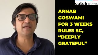 """No Coercive Action Against Arnab Goswami for 3 Weeks Rules SC, """"Deeply Grateful"""" Says Arnab"""