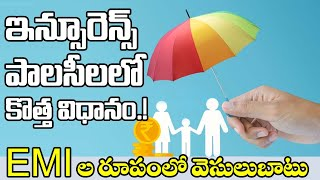 New Scheme Introduced By IRDA | Life Insurance Corporation | EMI Process In Insurance Companies