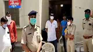 સુરેન્દ્રનગર પોલીસ દ્વારા આર્યુવેદીક ઉકાળાનું વિતરણ કરાયું