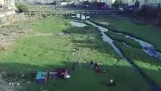 રાજકોટ : આજી નદીના પટમાં ક્રિકેટ રમતા દ્રશ્યો આવ્યા સામે