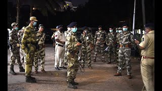 Police And CRPF Deployed In Shirgao On Pretext Of Lairai Jatra