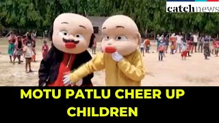 'Motu Patlu' characters cheer up children amid lockdown in WB | Latest news In English | Catch News