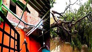 Heavy Rain Fall Hyderabad Faces A Loss In Lockdown Due To Heavy Rainfall | @ SACH NEWS |