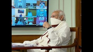 Watch: PM Modi chairs meeting with CMs over lockdown exit strategy