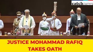 Justice Mohammad Rafiq Takes Oath As Chief Justice Of Orissa High Court | Catch News