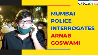 Mumbai Police Interrogates Arnab Goswami For 12 And a Half Hours Over Comments On Sonia Gandhi