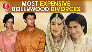 Aamir Khan To Saif Ali Khan - Here Are Bollywood's Most Expensive Divorces