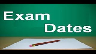 EXAMS OF STUDENTS: Dates To Be Declared After 3rd