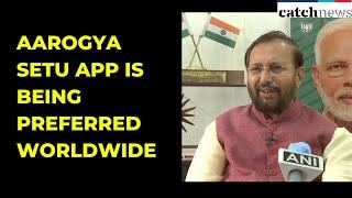 No Privacy Issue, Aarogya Setu App Is Being Preferred Worldwide: Javadekar | Catch News