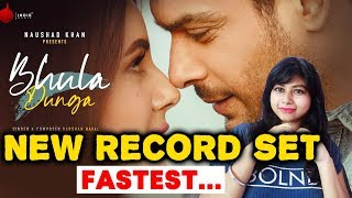 Bhula Dunga Song Creates New Record This Time   Sidharth Shukla. Shehnaz Gill