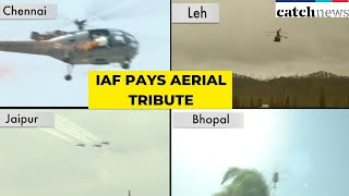 IAF Pays Aerial Tribute To Coronavirus Warriors | Latest News In English | Catch News
