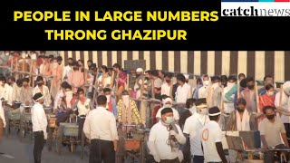 Amid Lockdown, People In Large Numbers Throng Ghazipur And Okhla Mandis | Catch News
