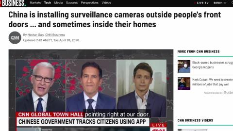 Zhe Quan (遮诠)- Episode 01 - CNN characterizes Covid-19 camera installation as invasion of privacy?