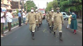 Goa RSS unit felicitates frontline COVID-19 warriors