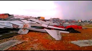 26 Log Hue Zakmi Shed Gine Se In Hyderabad | The Fruit Market Collapsed | @ SACH NEWS |