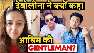 Devoleena CALLS Asim Riaz Most Gentleman Of Bigg Boss 13; Here's Why