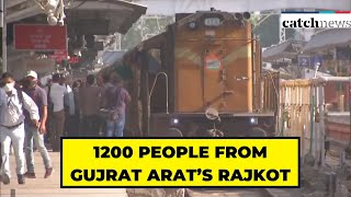 Second 'Shramik Special' Train Ferries 1200 People From Gujarat's Rajkot Amid Lockdown 3.0