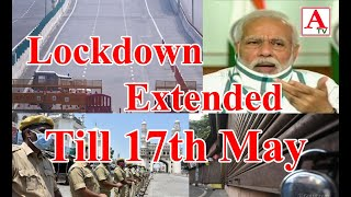 Lockdown Extended Till 17th May Relaxations in Orange, Green Zones A.Tv News 1-5-2020