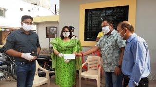 Coronavirus : बी एस पटेल समूह ने दो लाख का दान दिया,  मदद के लिए पटेल परिवार आगे आया