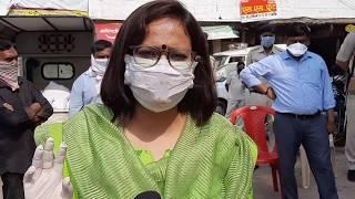 खंडवा कलेक्टर तन्वी सुन्द्रियाल की लॉकडाउन में अपील    Khandwa Collector Tanvi Sundriyal