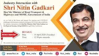 Industry Interaction with Mr Nitin Gadkari