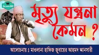 মৃত্যু যন্ত্রনা কেমন হবে ? শুনুন সেরা বাংলা এই ওয়াজটি । Jubaer Ahmed Ansari Bangla Waz Mahfil 2020