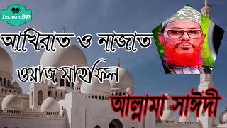 বাংলা ওয়াজ মাহফিল । আখিরাত ও নাজাত । রমজানের স্পেশাল ওয়াজ । Allama Delwar Hossain Saidi Waz Mahfil