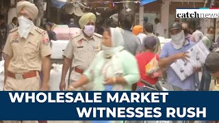 Lockdown 3.0: Wholesale Market Witnesses Rush In Amritsar, Social Distancing Norms Flouted