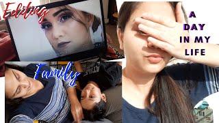 VLOG : A Day in My Life in LOCKDOWN - Cleaning, Editing & Family | Nidhi Katiyar | #NKVLOG