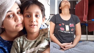 Vlog : COVID case in our society ???????? | Meditation, Full day filming & Editing | Nidhi Katiyar