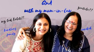 Meet My Mother-in-law | Special QnA with my Mother in Law - Mother's Day Special | Nidhi Katiyar