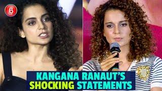 Kangana Ranaut's SHOCKING Controversial Statements | Hrithik Roshan | Manikarnika