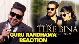Guru Randhawa Reaction On Salman Khan's TERE BINA | Jacqueline Fernandez
